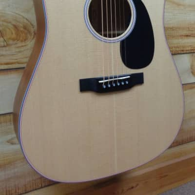New Martin® DC16E Dreadnought Acoustic Electric Guitar Spruce and Sycamore w/Case