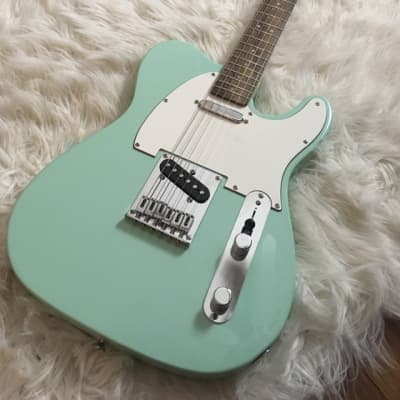 Squire Telecaster Bullet 2000's Seafoam Green
