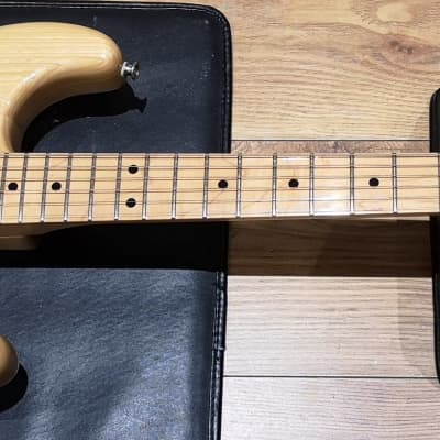 Kimbara Stratocaster Made In Japan 1970 Great Condition Natural Serviced & Cleaned for sale