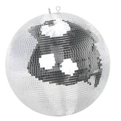 "American DJ M-1616 16"" Glass Mirror Ball w/ Hook"
