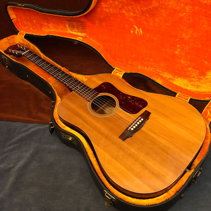 Guild D35 Vintage Dreadnought Natural 1972 w/ OHSC