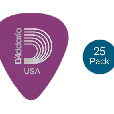 Planet Waves 1DPR6 Duralin Heavy Guitar Picks - 25-Pack