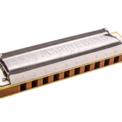 Hohner Marine Band 1896 - Key of B