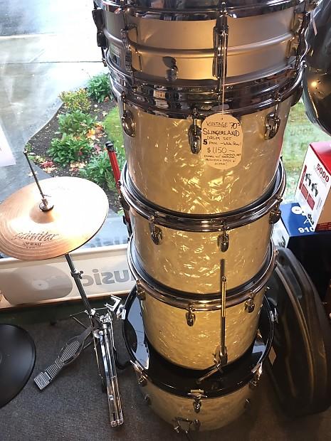 70s slingerland drum set w hardware and accessories reverb. Black Bedroom Furniture Sets. Home Design Ideas