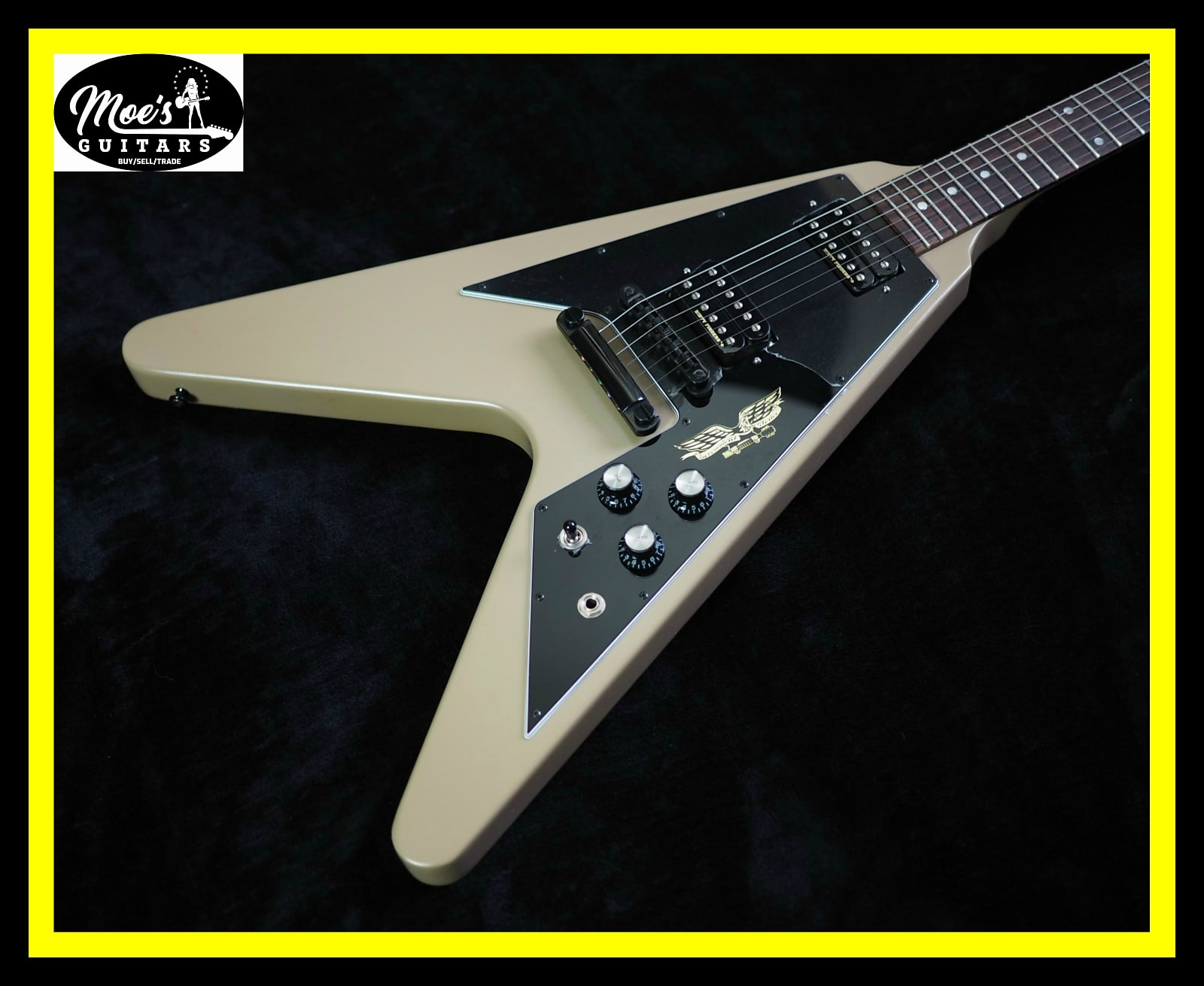 Gibson Government Series II Flying V 2013 Government Tan