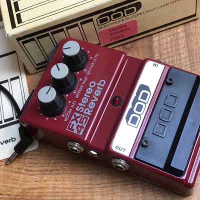 DOD FX-45 Stereo Analogue Reverb  Ultra Rare USA 1985 for sale