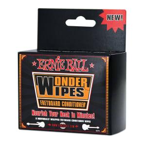 Ernie Ball 4276 Wonder Wipes Fretboard Conditioner (6 Pack)