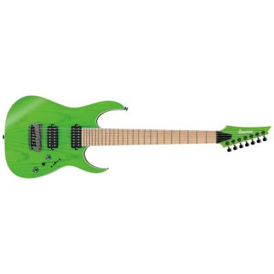 Ibanez RGR5227MFX-TFG Prestige 7-String Transparent Fluorescent Green 2019