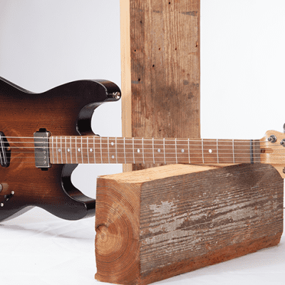 DEPOSIT - StoryWood Music  Reclaimed Wood Model 4R-2 S-Type Custom Guitar