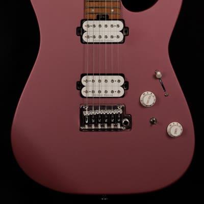 Charvel Pro-Mod DK24 HH 2PT CM Satin Burgundy Mist Electric Guitar