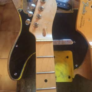NGS Guitars Luthier hand made Telecaster light relic neck 2018 Relic Maple