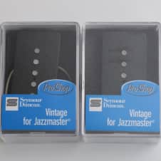 "NEW Seymour Duncan SJM-1n & SJM-b ""Vintage for Jazzmaster"" Single Coil Neck & Bridge Pickup Set"