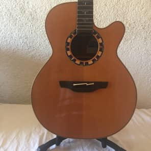 Takamine Santa Fe TAC48C Gloss Natural 2008 for sale