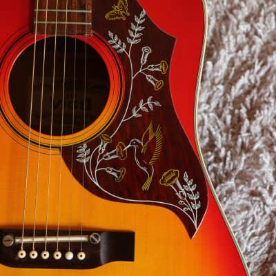 ∞ MIJ Hummingbird ∞ post 'Lawsuit' circa 1977 ∞ Chushin Gakki or Hayashi ∞ + Pro Setup for sale
