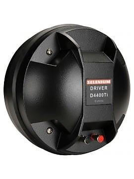 """Jbl / selenium d4400ti 2"""" titanium horn driver 4-bolt   reverb."""