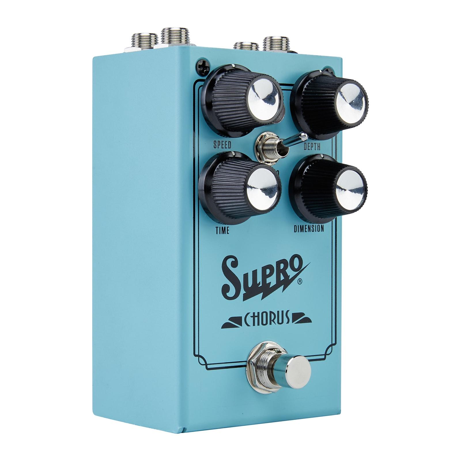 Supro 1307 Analog Chorus Effects Pedal