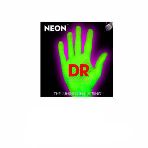 DR Strings NEON HiDef Green SuperStrings Light Electric Guitar Strings for sale