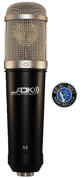 ADK Studio A6 Microphone, Ring Mount, & Jewel Box + Free Shipping! New with  Factory Warranty!