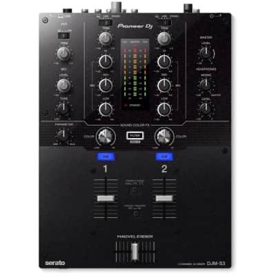 Pioneer DJM-S3 Professional 2-Channel Serato DJ/DVS Mixer