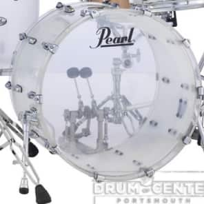 Pearl Crystal Beat Acrylic Bass Drum 22x16 - Frosted