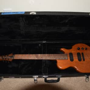 Rare 2002 Ballurio Lingo  Natural Electric Guitar & Hard Case, Safe Worldwide Shipping for sale