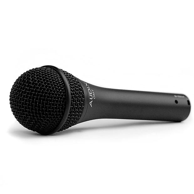 audix om7 dynamic vocal microphone concert reverb. Black Bedroom Furniture Sets. Home Design Ideas