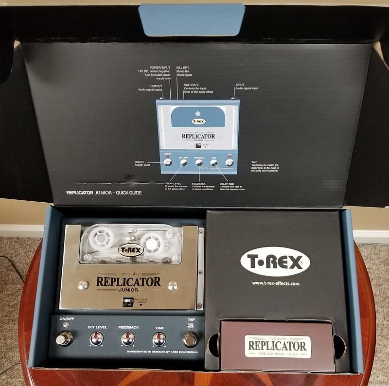 t rex replicator junior tape delay tesi switch reverb. Black Bedroom Furniture Sets. Home Design Ideas