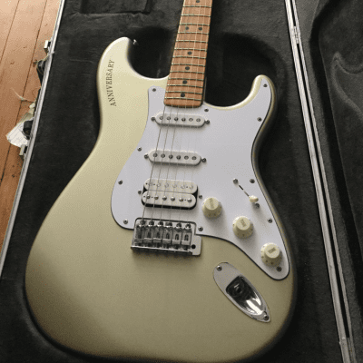 Fender 25th Anniversary Stratocaster Silver Metallic 1979 for sale