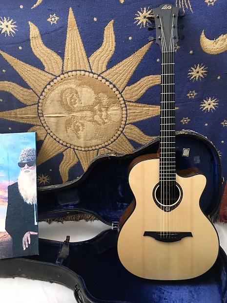 lag tse701ace acoustic electric midtown guitar company reverb. Black Bedroom Furniture Sets. Home Design Ideas