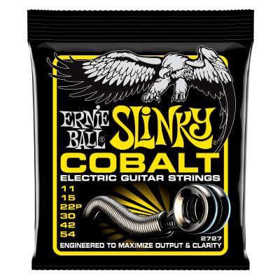 Ernie Ball Beefy Slinky Cobalt Electric Guitar Strings - 11-54 Gauge