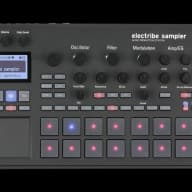 Korg Electribe 2 2016 Black