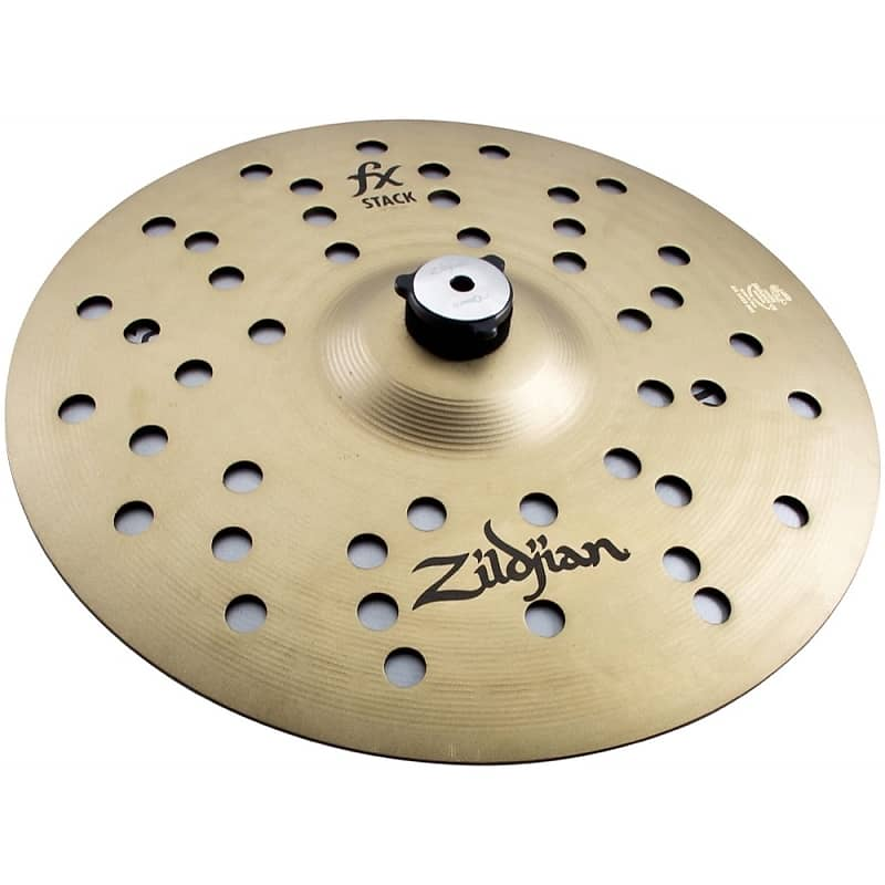 zildjian fx stack hi hat cymbal pair with mount 12 reverb. Black Bedroom Furniture Sets. Home Design Ideas