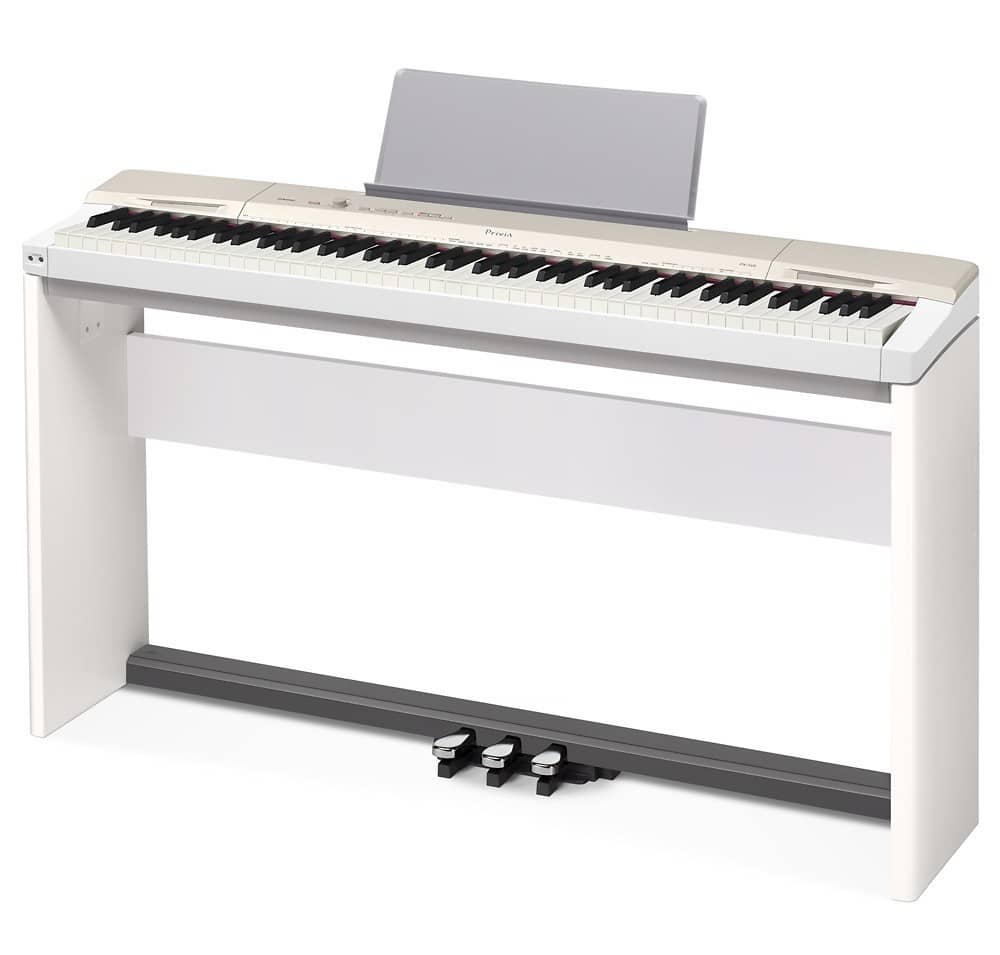 casio privia px 160 standsp33 digital piano with stand and reverb. Black Bedroom Furniture Sets. Home Design Ideas