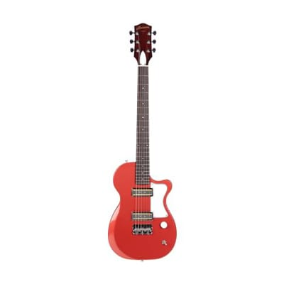 Harmony Juno Guitar w/ MONO Bag, Ebony Fretboard, Nitro Finish, Rose for sale