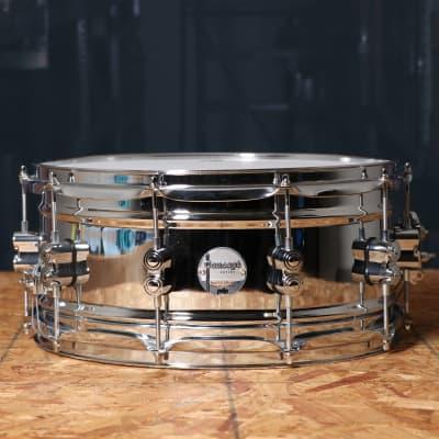 PDP Concept Polished Steel 6.5x14 Snare Drum - PDSN6514SSC