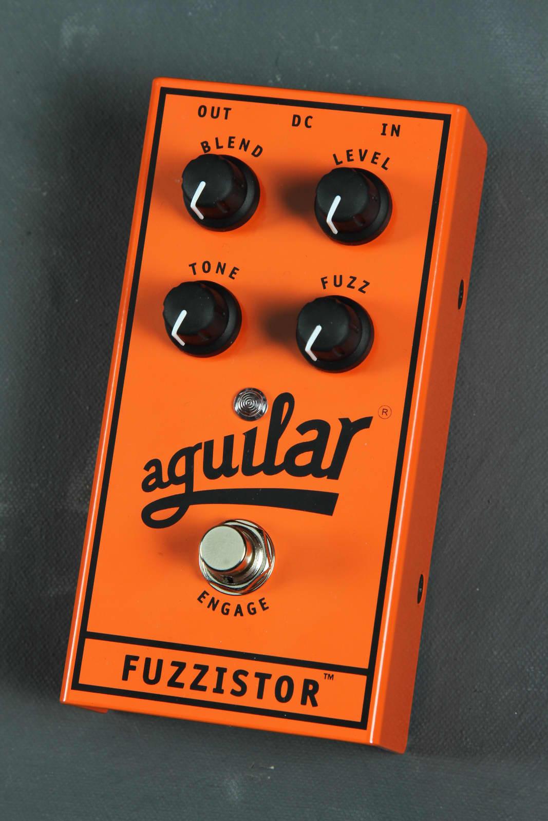 Aguilar Fuzzistor Bass Pedal 824599001398