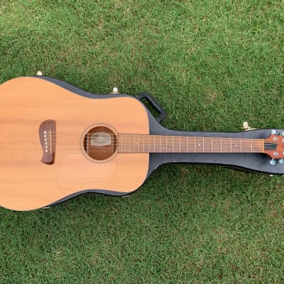 Tacoma DM9 Satin Acoustic Electric Dreadnought with hardshell case for sale