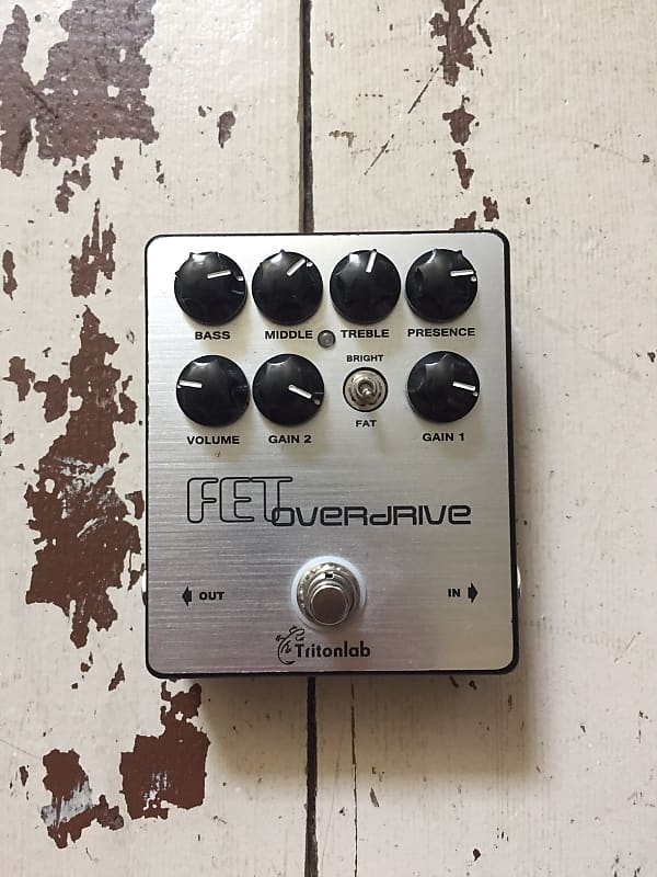 tritonlab fet overdrive bass guitar pedal reverb. Black Bedroom Furniture Sets. Home Design Ideas