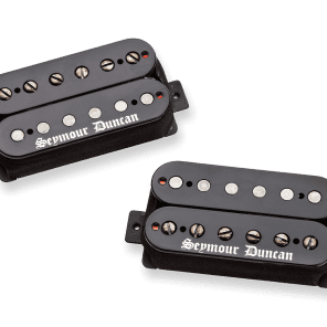 Seymour Duncan Black Winter Humbucker Set Black Cover
