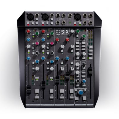 Solid State Logic SiX Superanalogue 6-Channel Desktop Mixer