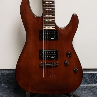 Schecter Omen-6 Walnut Finish Electric  6 String Guitar for sale