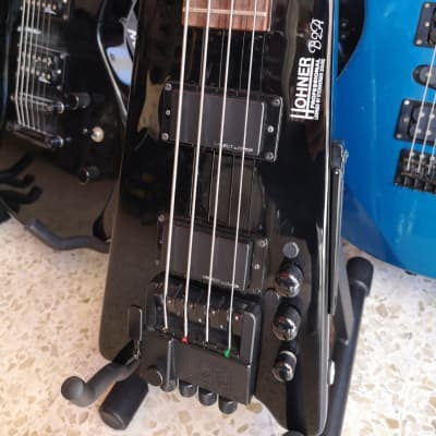 Hohner B2A - Headless - Steinberger System Pickup Select by EMG - Drop D Tuner for sale