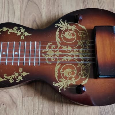 1950's Oahu Tonemaster Deluxe Sunburst With OHSC Free Shipping for sale