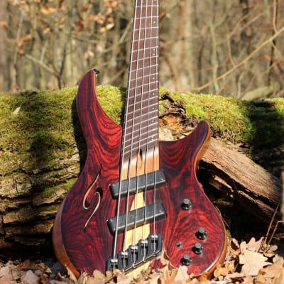 Dingwall Afterburner II 5X ABII Special Edition Bass Guitar, 37