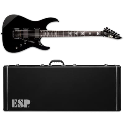 ESP LTD JH-600 Jeff Hanneman Black  Electric Guitar With ESP CASE  JH600 JH 600 Slayer - B-Stock for sale