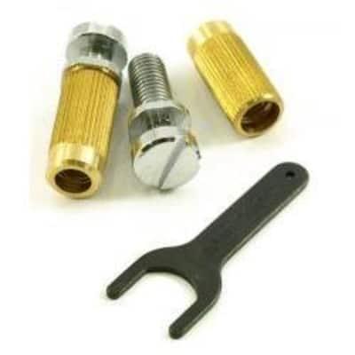 TonePros Locking USA Studs & Anchors-Chrome