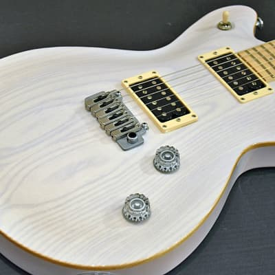 T'S Guitars Arc-Ash22/Vs100N Trans White  04/03 for sale