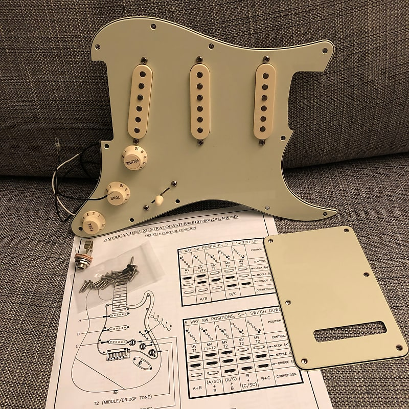 Fender Stratocaster American Deluxe Wiring Diagram