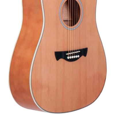Tagima - TW-25NS - Dreadnought Acoustic Guitar - Natural Satin for sale