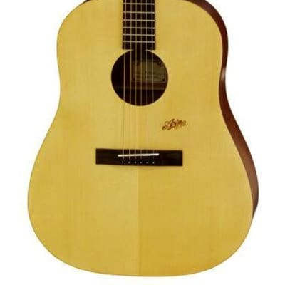 Aria MF240 Mayfair Series Dreadnought Acoustic Guitar in Matt Natural for sale